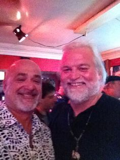 Me & Jump'n Johnny Sansone at Bullet's Sports Bar in the 7th Ward of New Orleans.
