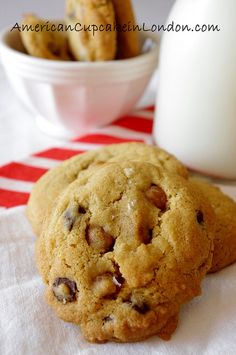 Salted Caramel Chocolate Chip Cookies by kellylovescupcakes, via Flickr