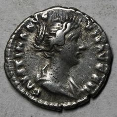 51 best coins of the empire images on pinterest roman empire ancient roman coin a silver denarius of faustina ii wife of marcus aurelius fandeluxe Choice Image