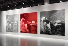 yan pei ming painting the history - Google Search