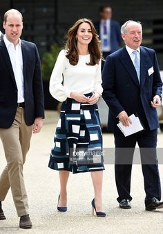 The Duke and Duchess of Cambridge attend the launch of Heads Together Campaign at Olympic Park on May 16, 2016 in London, England.