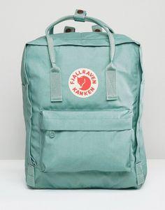 Buy Fjallraven Kanken Classic Sky Blue Backpack at ASOS. Get the latest trends with ASOS now. Mochila Kanken, Cute Backpacks, School Backpacks, Mini Backpack, Kanken Backpack, Green Bag, Blue Green, Cute Bags, School Bags
