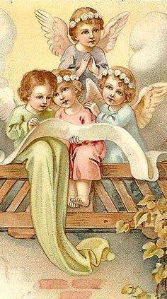 vintage christmas angel - Buscar con Google