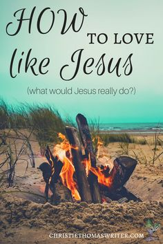 Bible study on Jesus' radical love via @cthomaswriter