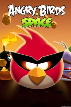 Angry Birds Space iPhone, iPad & Desktop Wallpapers / Backgrounds