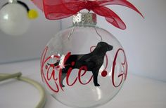 $9.99 So fun! Personalized Dog Ornament - Pick Your Breed