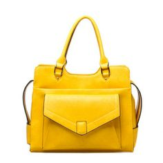 Fun yellow handbag!