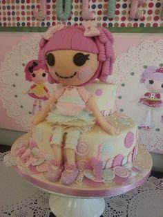 Lalaloopsy cake (or artwork!)