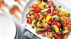 Find all the recipes from the June 2016 issue ofSouthern Livingmagazine. This month we're cooking upquick and easy salad recipes, a decadent Panini, and a handful of delicious ways to cook with one of our favorite Southern summertime ingredients: tomatoes.For dessert, you'll love our Grilled Peach Cobbler—a riff on a classic cobbler.