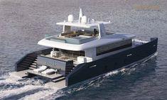 Ivan Erdevicki unveils the KingCAT 80 - New Designs - SuperyachtTimes.com