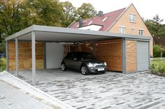 Moderne carport More