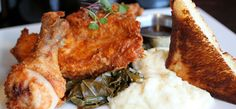 Max's Gourmet Comfort Food - 2421 W. Seventh St. - open for brunch Fri - Sun.  Try the Jalepeno Buttermilk Fried Chicken w/ mashed potatos, collard greens, & Texas toast.