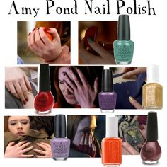 Amy Pond Nail Polish, created by companionclothes on Polyvore