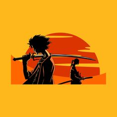 Check out this awesome 'Samurai+Champloo' design on @TeePublic!