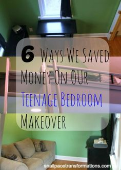 We saved so much renovating a room for our teenage son that we were able to give his siblings rooms an update too.