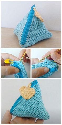Free Crochet Bag, Simple Crochet, Crochet Tote, Crochet Handbags, Crochet Purses, Crochet Crafts, Crochet Yarn, Crochet Projects, Loom Knitting
