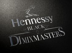Hennessy Black – DJ Mixmasters | Logo Design