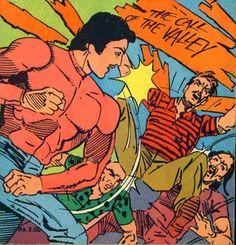 Bahadur in action...Bahadur (Indrajal Comics) #art #comics #bahadur #indiancomics #defunct #indrajalcomics #vintage #classic