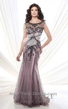 Mon Cheri 215911 Dress - NewYorkDress.com