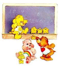 Care Bears,  I had this folder for school.