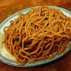 Cold Sesame Noodles @ Spicy & Tasty Flushing