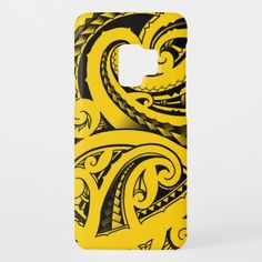 Maori traditional tribal Kirituhi design koru Samsung Galaxy S9 phone case