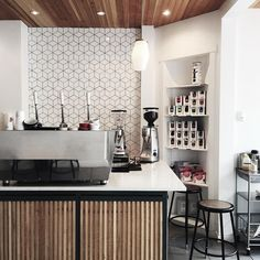 """[ Coffee Bureau ] Loving the space and the amazing coffee at @coffee.bureau in downtown Edmonton. @acecoffeeroasters #coffeebureau #exploreedmonton #yeg…"""