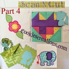 Cookie's Embroidery Creations:Fun Projects and Sewing Ideas