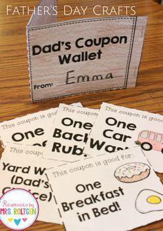 iTeach Kinder: Kindergarten Teaching Resources: Make-It Monday: Father's Day Craft Activities