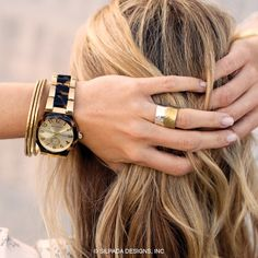 I am LOVING this watch.  Available on line shop the look by clicking the picture