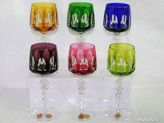 Nachtmann ser Antika 12 glasses 20cm 6x2tsv antique buy in Moscow on Avito