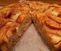 Apfelkuchen - fluffig, fruchtig, fettarm