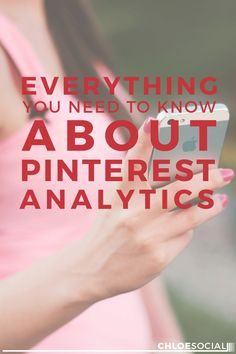 Everything You Need to Know About Pinterest Analytics  #Pinterest #analytics give you a brief overview of the stats for your Pinterest profile, your audience, and activity from your verified website. Learn how here!