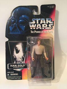 "Star Wars Han Solo in Carbonite POTF Figure Red Card 1996 3 75""   eBay"