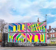 In Good Company turns its street art campaign into 'Posters for the People' to support key workers Anthony Burrill, Hyde Park Corner, Studio Build, Billboard Design, Passion Project, Power To The People, Positive Messages, Creative Industries, Poster On