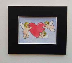 Three cute cherubs, ACEO  http://cgi.ebay.co.uk/ws/eBayISAPI.dll?ViewItem=160967708069=STRK:MESE:IT