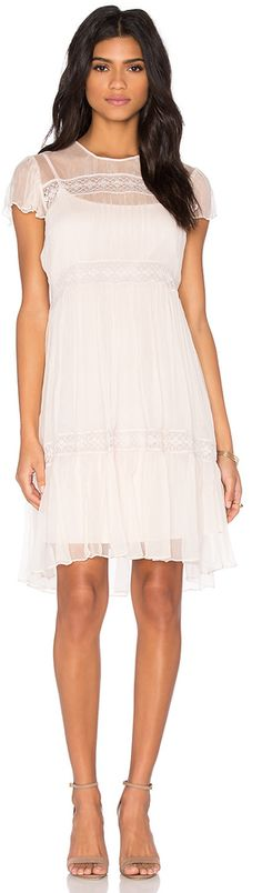 Needle & Thread Chiffon Lace Dress. $269$105