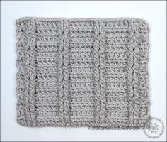 Punto elástico de medias varetas a Crochet (foto-tutorial) (diagrama) | PATRONES VALHALLA // Patrones gratis de ganchillo