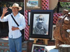 Polo Valencia owns Polo's Gallery in Rosarito, on Popotla Blvd.