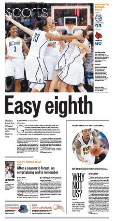 Sports, April 10, 2013.