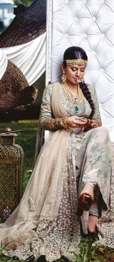Vidhi Trivedi in Sabyasachi - Featured on Harper's Bazaar Bride India November 2014