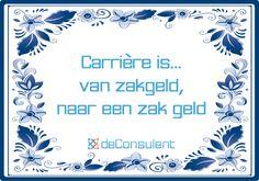 Wij maken werk van uw ambitie! www.deconsulent.nl