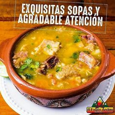Hoy Domingo no puede faltar una rica sopa de @elfogonandino  #elfogonandino te ofrece una muy deliciosa y a la leña.  Te están esperando con los mejores platos y excelente atención. #sopas #tradiciones #alaleñasabemejor #gastronomia #DondeComer #paraguana #food #foodie #soup #haztenotar