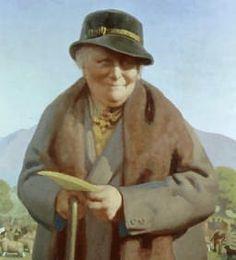 Beatrix Potter. English author and illustrator, botanist, and conservationist
