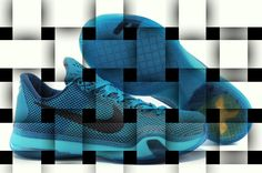 """Zapatilla Nike Kobe X """"Blue Lagoon"""" GS, velocidad y precisión se convierten en uno www.basketspirit.com/Zapatillas-Baloncesto/Zapatillas-Kobe"""