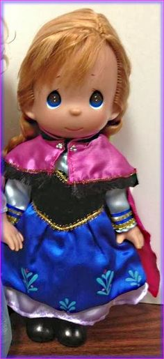 Frozen Anna Disney Precious Moments Doll! $49.95 Pre-Order yours today!