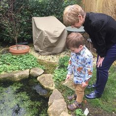 """Sarah-Marie Collins on Instagram: """"• Frog Spawn • Spring has definitely sprung. Rowan celebrated his great aunt's birthday by looking for frogs and frog spawn in her pond. He…"""" Great Aunt, Spawn, Frogs, Southern Prep, Pond, Celebrities, Birthday, Instagram, Style"""