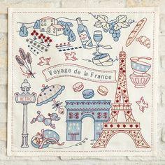 ステッチクロス<パリ>