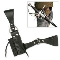 AmazonSmile : Leather Medieval Sword Frog Belt Hanger Rapier Renaissance : Martial Arts Swords : Sports & Outdoors