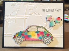 Stampin up Beautiful a Ride